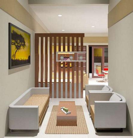 desain sekat ruangan minimalis | interior, desain interior