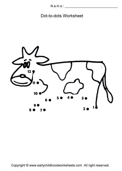 Cow Preschool Worksheets Google Search May Preschool Farm