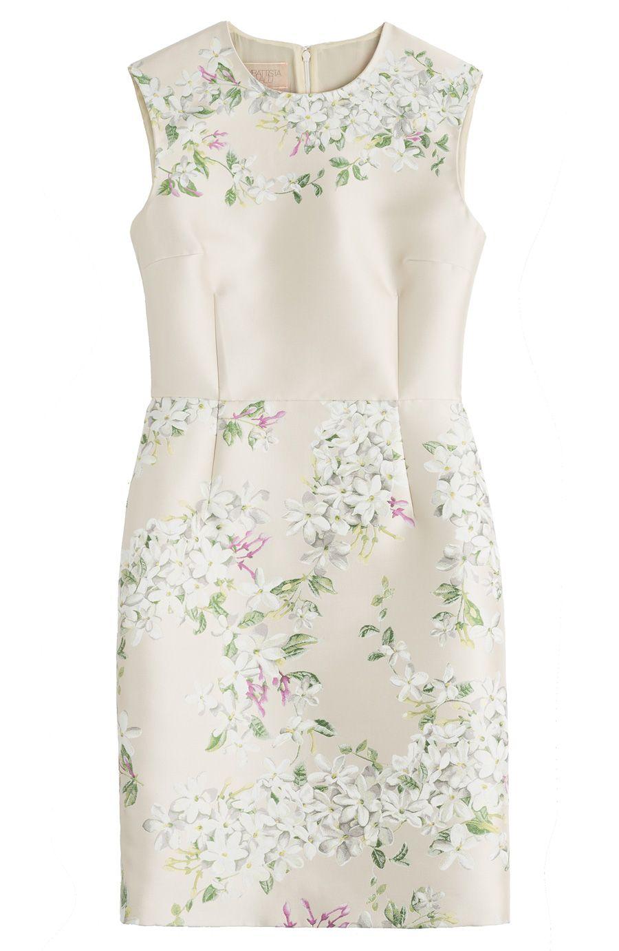 giambattista valli jaccard shift dress | embellished