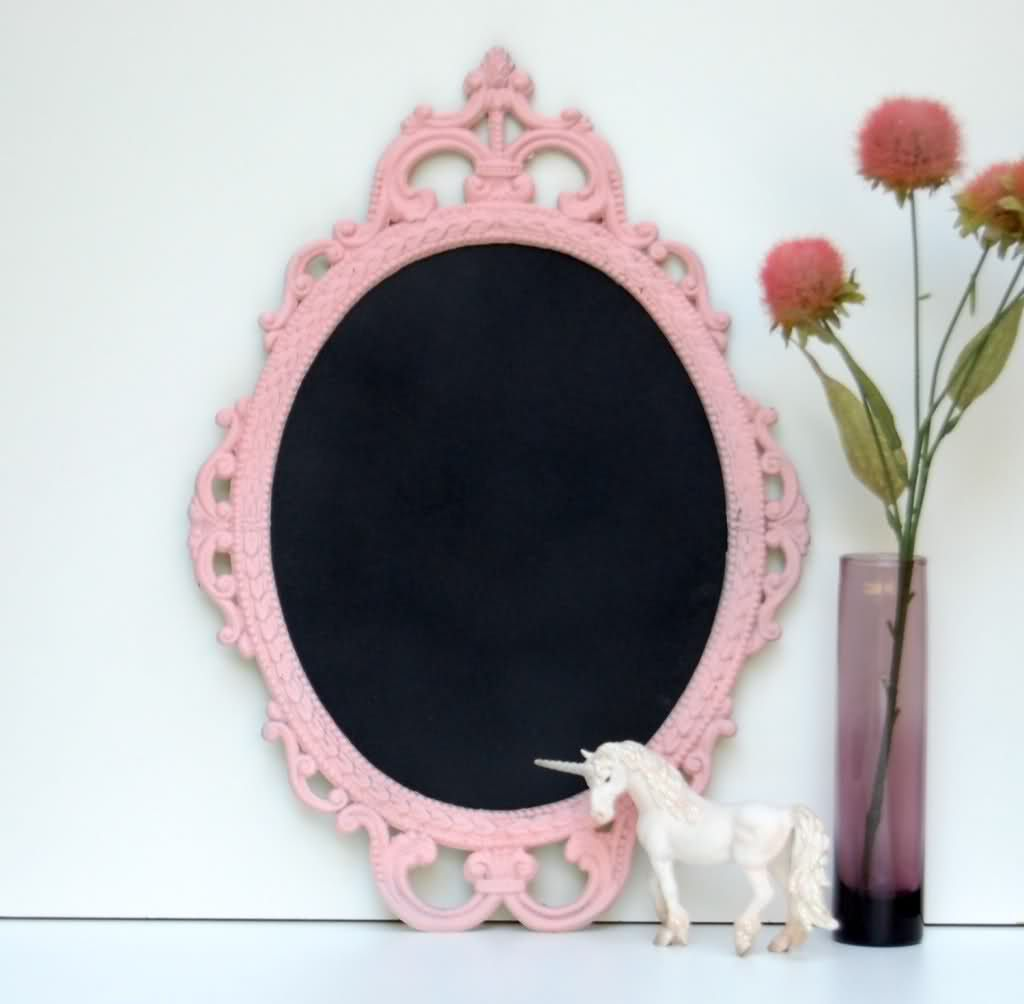"""A Vintage mirror like this for people to sign with """"red lipstick"""" (red sharpie) for the quinceanera so cute !"""