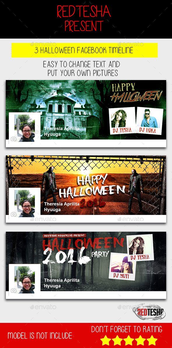 halloween timeline template