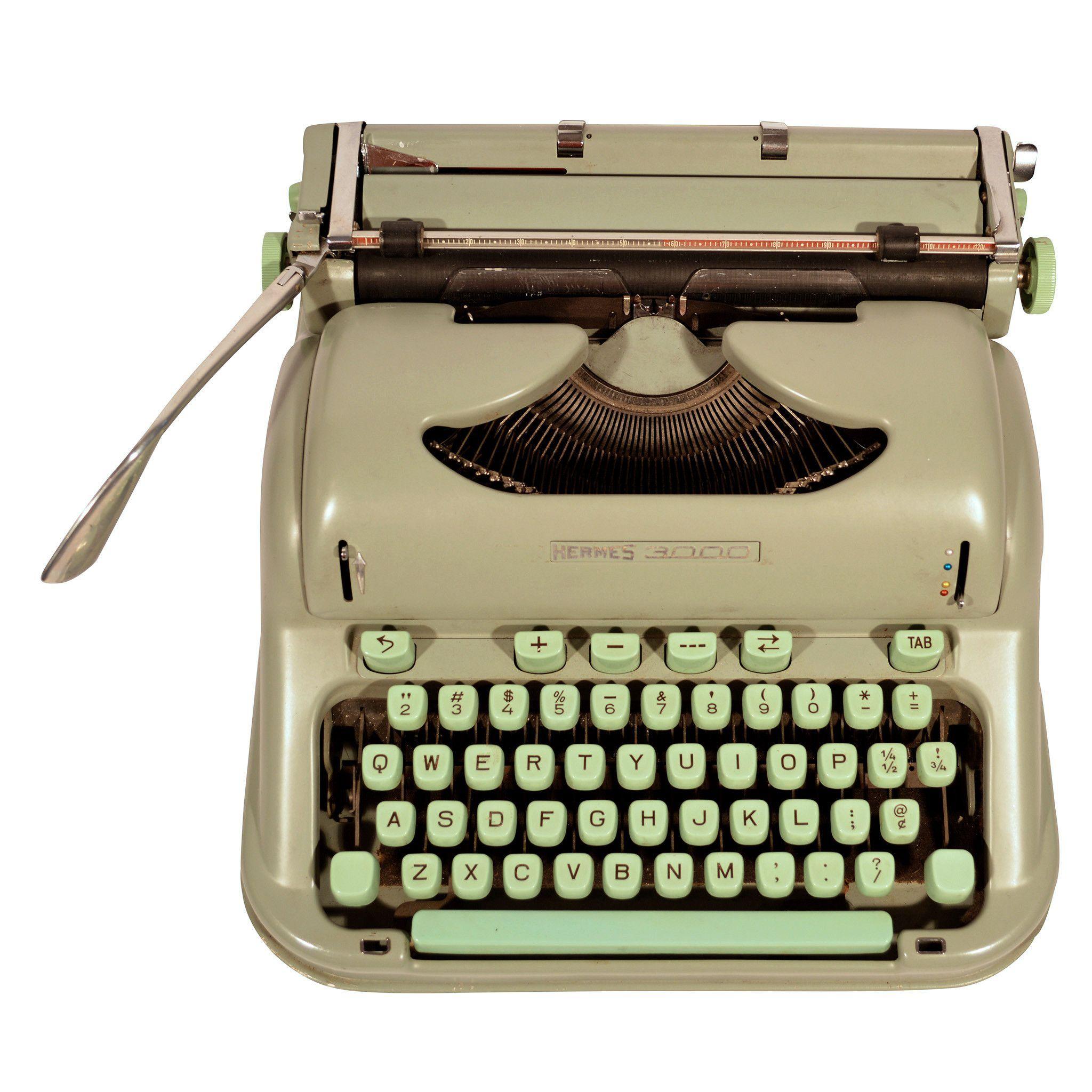 1950's Hermes 3000 Typewriter