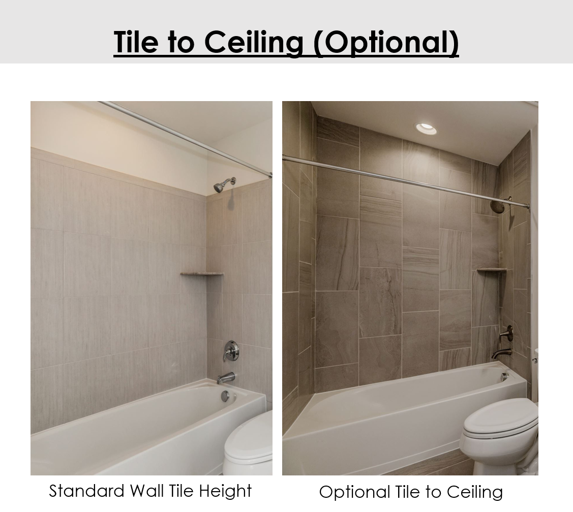 Tile To Ceiling Diagram With Images Shower Enclosure Tiles
