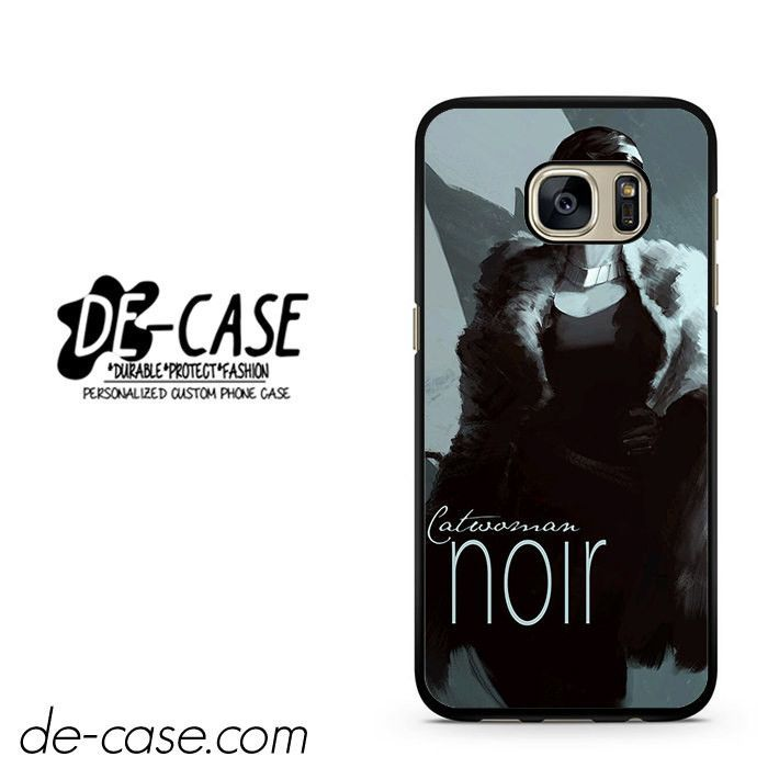 Catwoman Noir DEAL-2479 Samsung Phonecase Cover For Samsung Galaxy S7 / S7 Edge