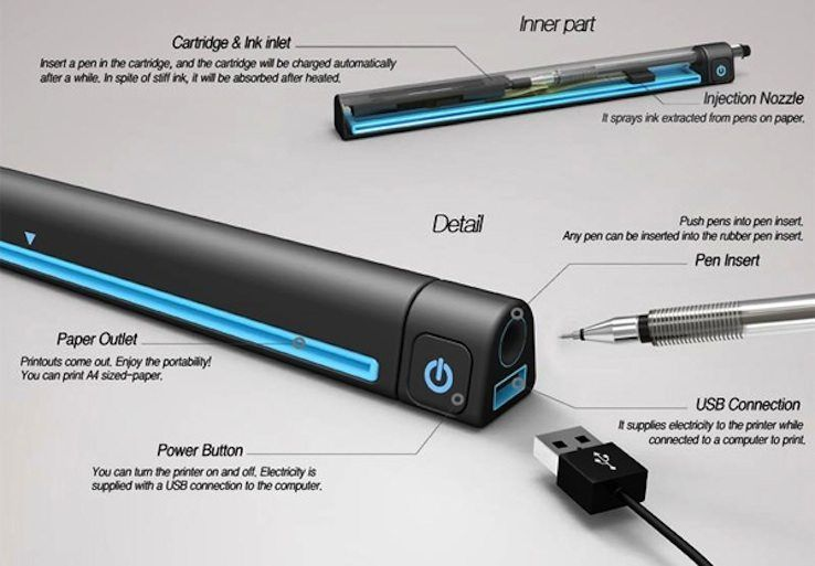 A smart device to make any mobile office complete. The Pen Printer is a…
