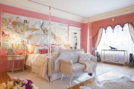 elegant bedroom designs teenage girls. Parisian Room Decor/images | Beautiful Wall Decoration And Elegant Bed Furniture In Teenage Girls Bedroom Designs Pinterest