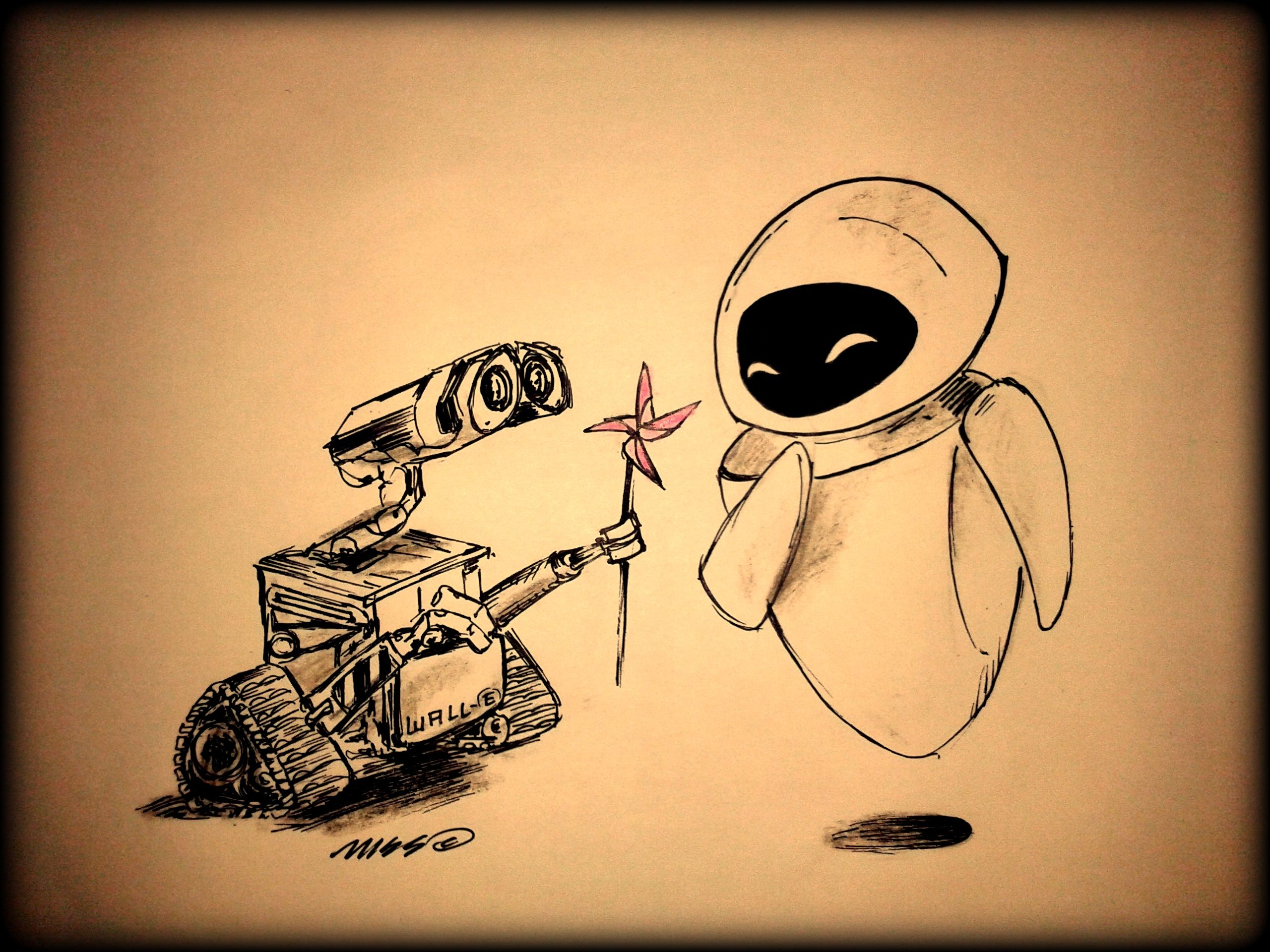 Nice Wall E Art Pictures Inspiration - The Wall Art Decorations ...
