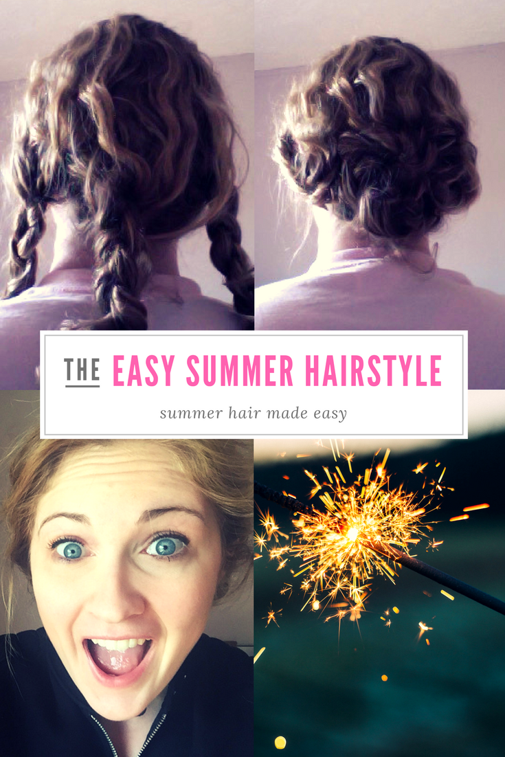 Easiest summer hairstyle easy summer hairstyles and curly