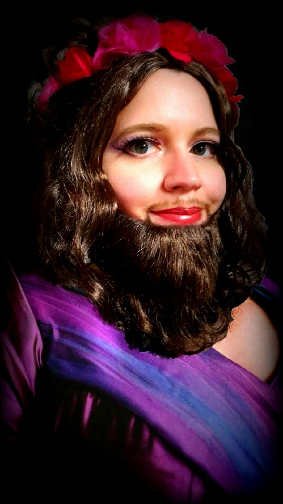 Lettie Lutz Real Lettie Lutz The Bearded Lady The Greatest Showman Fancy Dress