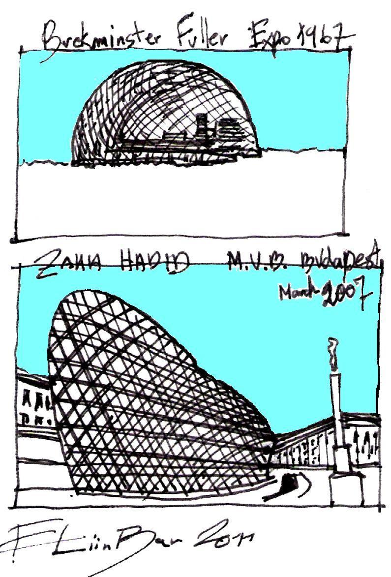 eliinbar Sketches 2011 & Zaha Hadid