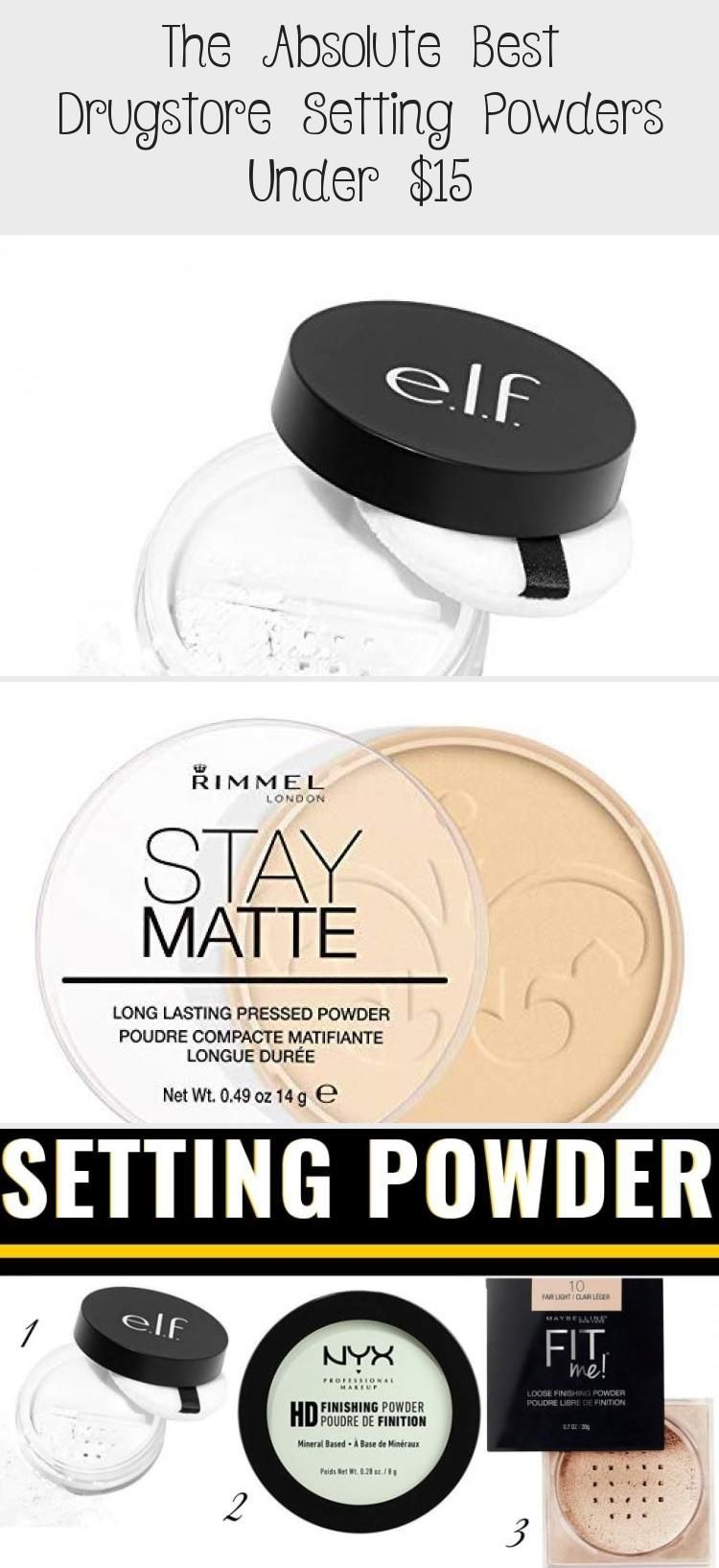 Makeup in 2020 Best drugstore setting powder, Setting