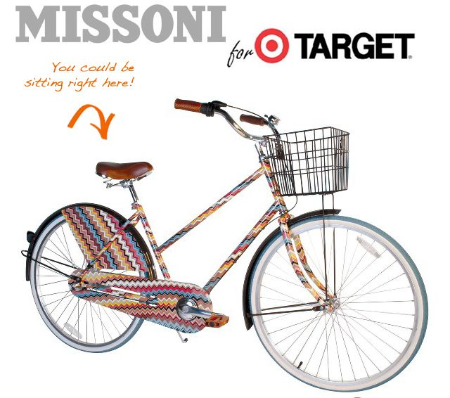 Mid-Century Modernist Design, Missoni Women's Bicycle