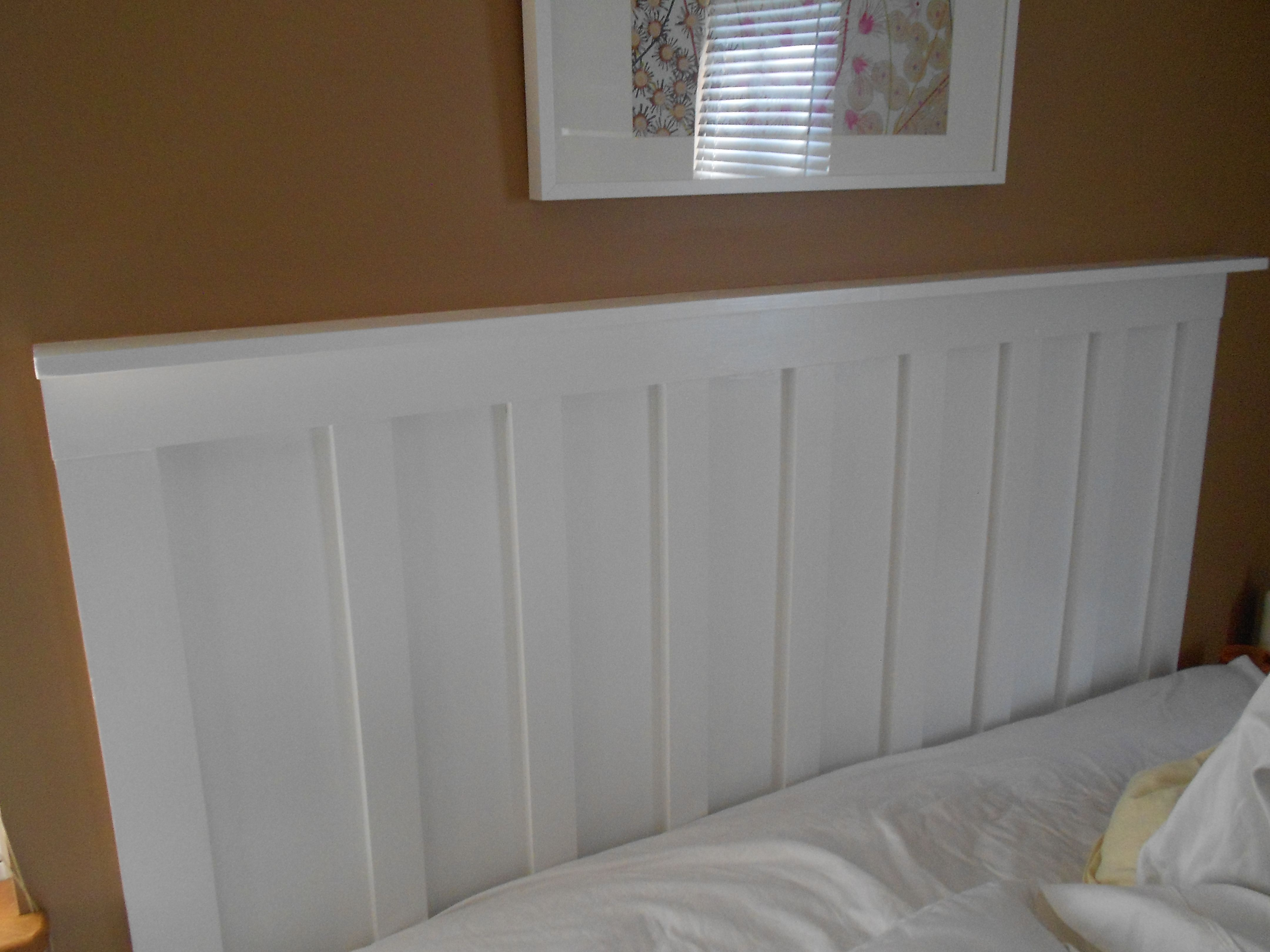 modern cottage headboards ana plans rustic wood white free diy bed projects platform style