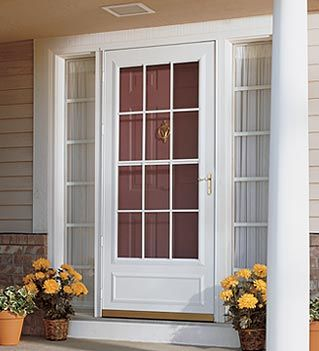 Front Door Replacement Menards Http Www Menards Com Main Doors Windows Exterior Doors Security Storm Doors Stan Storm Door Glass Storm Doors Exterior Doors