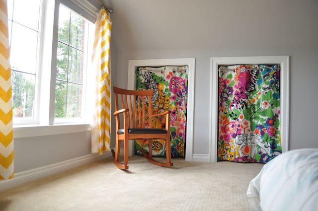 Pin On Closet Curtains