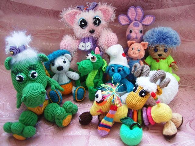 мои любимые игрушечки