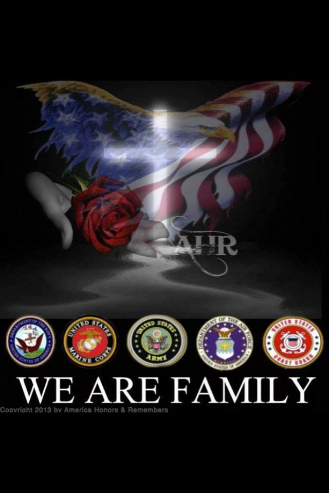 God Bless All Military Families Military Heroes Military Love