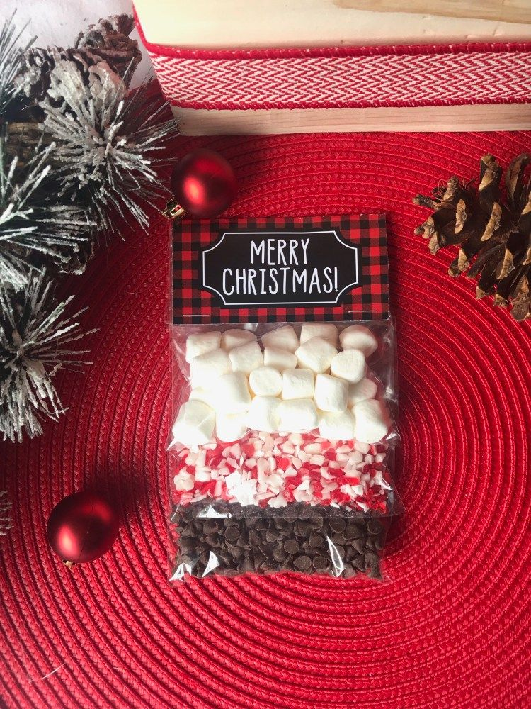 DIY Hot Cocoa Gift Kit Six Clever Sisters Hot cocoa