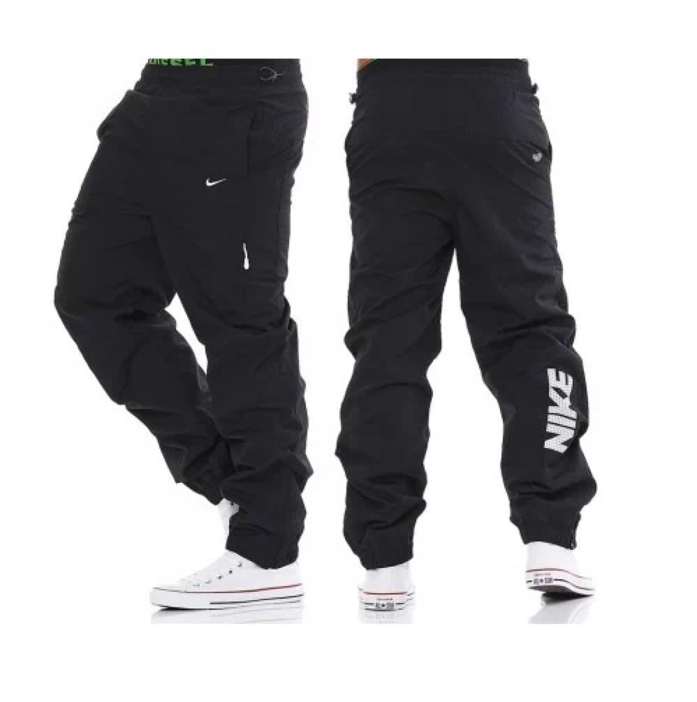 17bba03775382 Nike AD Tech Woven Black mens Jogging Pant Tracksuit Bottoms Track ...