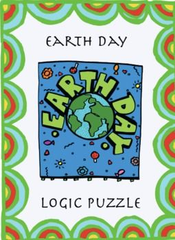Earth Day Recycling Logic Puzzle Grades 6