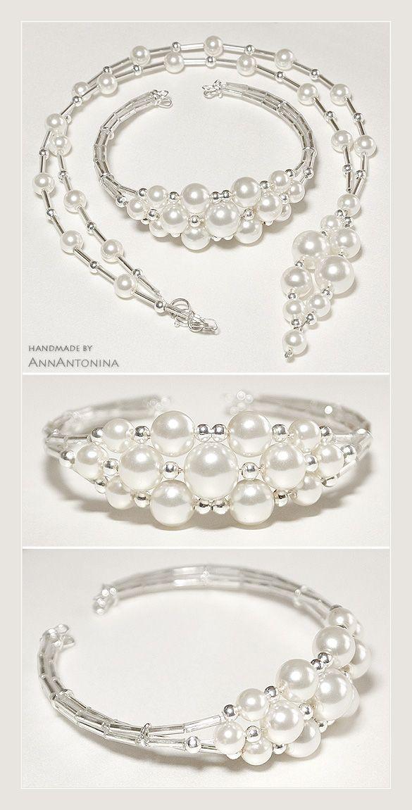 Glass Pearls - KIT by ~AnnAntonina on deviantART | jewelry ...