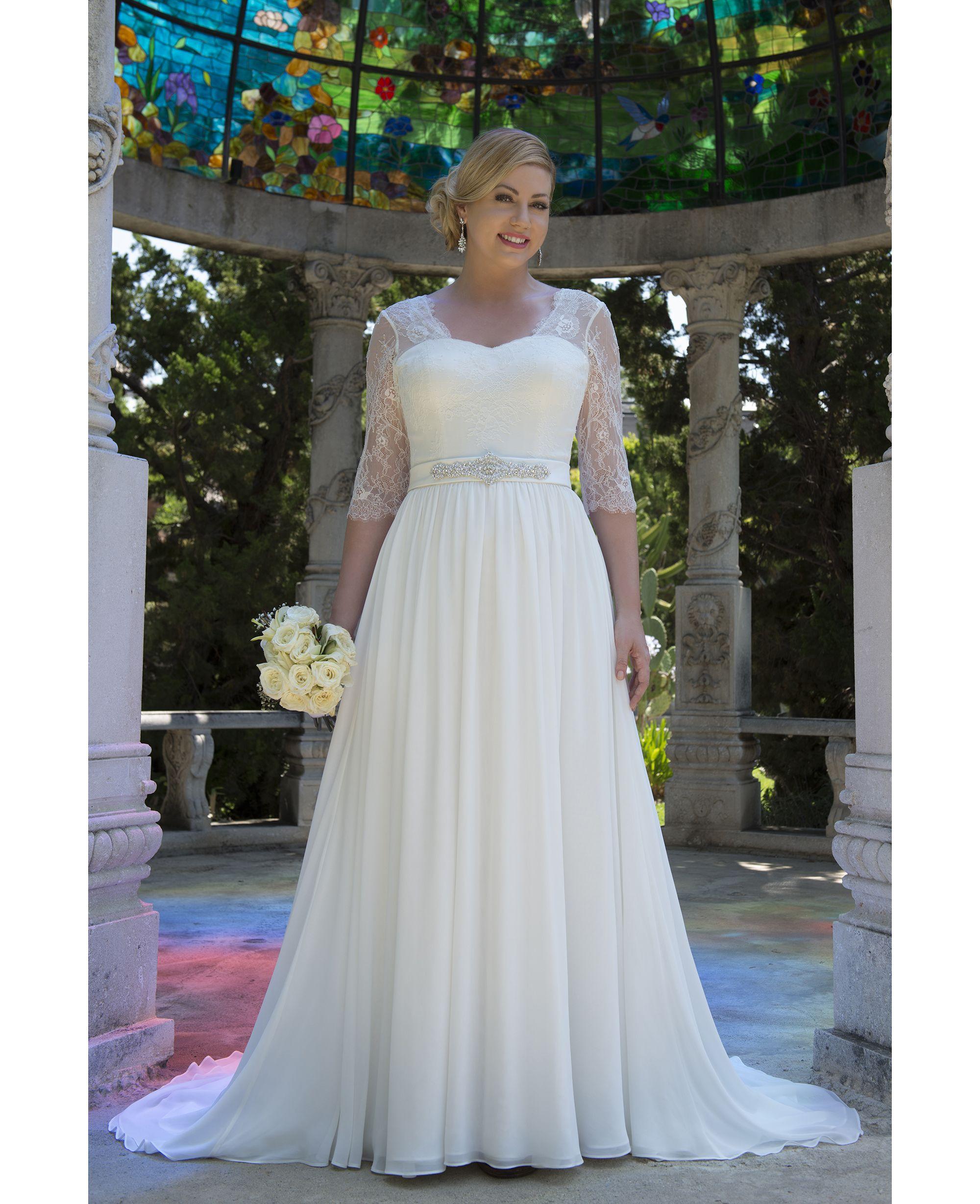 VW8744 wedding Wedding dresses, Wedding dress chiffon