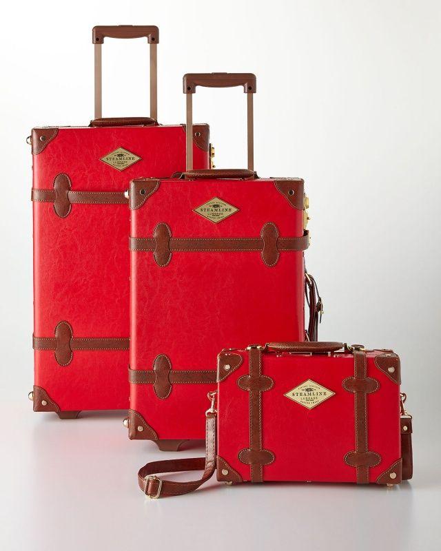 Streamline Luggage - The Entrepreneur Luggage Red