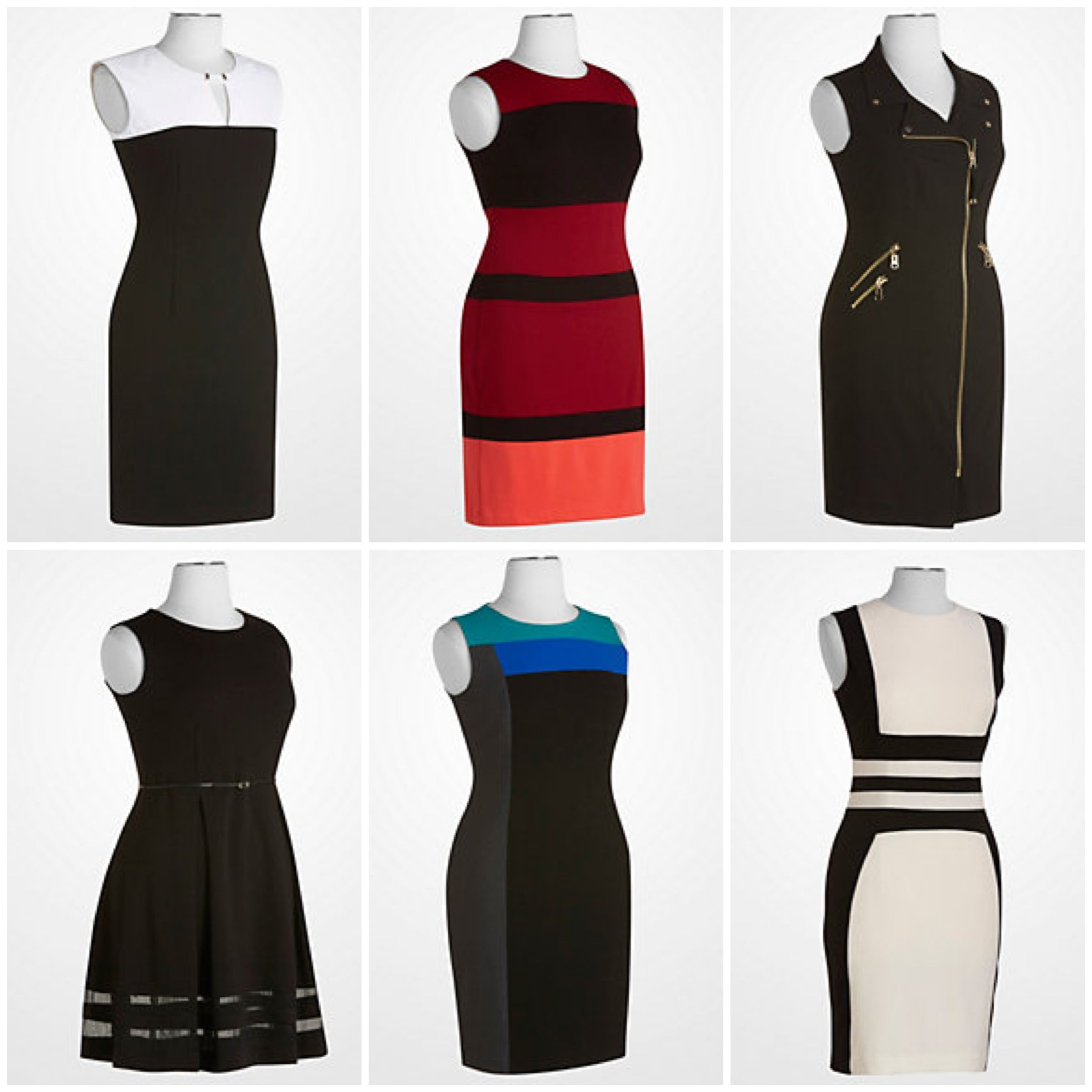 Black dress design - Calvin Klein Dresses Designer Deal Sheath Dress Womens Fashion