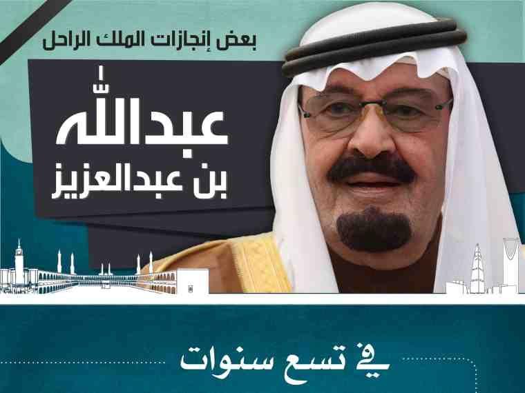 مشاريع أطلقها الملك عبدالله بن عبدالعزيز رحمه الله انفوجرافيك السعودية Baseball Cards Infographic Cards