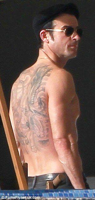 Justin Theroux Justin Theroux Justin Theroux Tattoos Justin