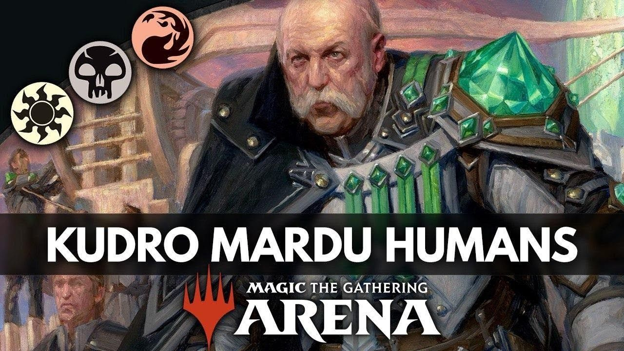 Kudro mardu humans ikoria standard deck guide magic