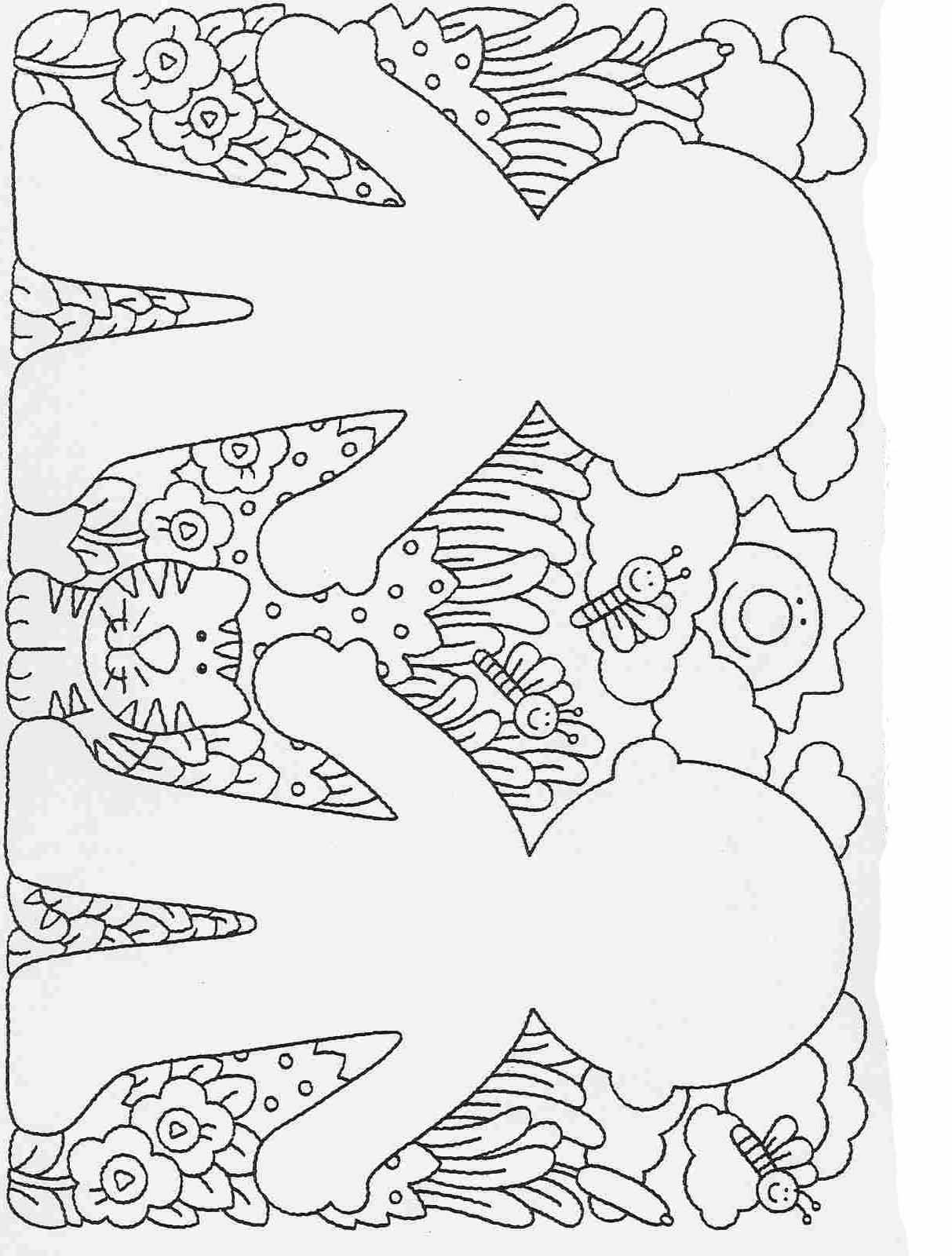 Elementary School Worksheets Complete And Coloring 9
