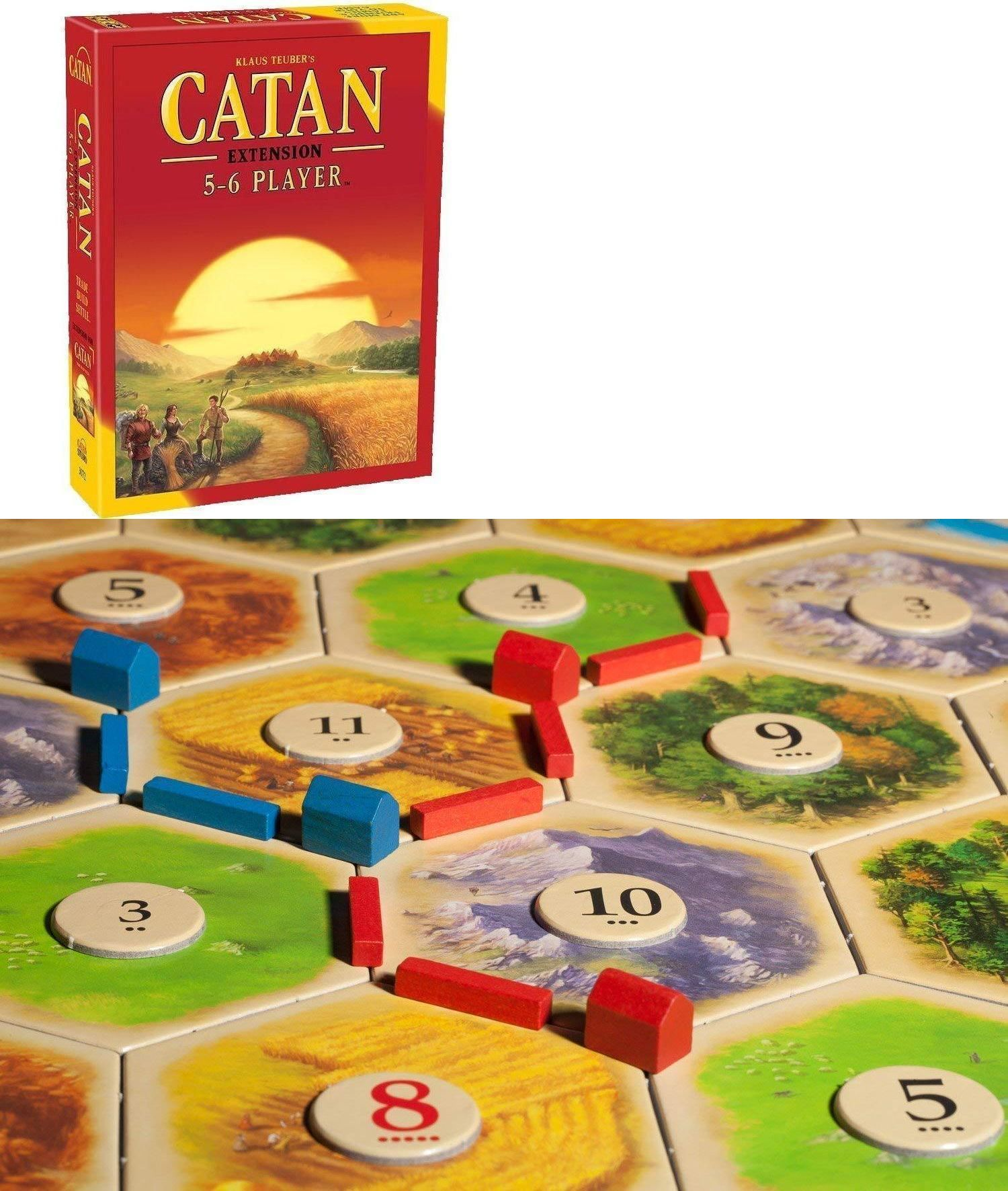 Settlers Of Catan Board Game 5th Edition 5 6 Player Extension Expansion Pack New Catan Board Game Catan Board Catan