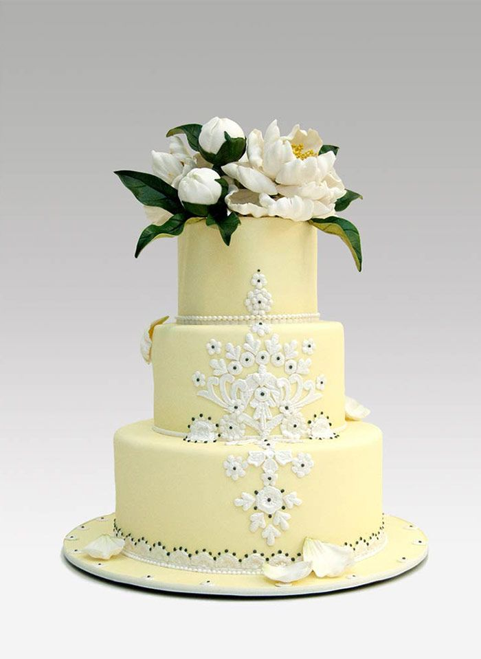 Wedding cakes by Ron Ben-Israel New York City | iPad | Cake Designs ...