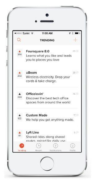 Product Hunt, el servicio que permite descubrir nuevos productos alrededor del mundo, acaba de lanzar su primer aplicación móvil.