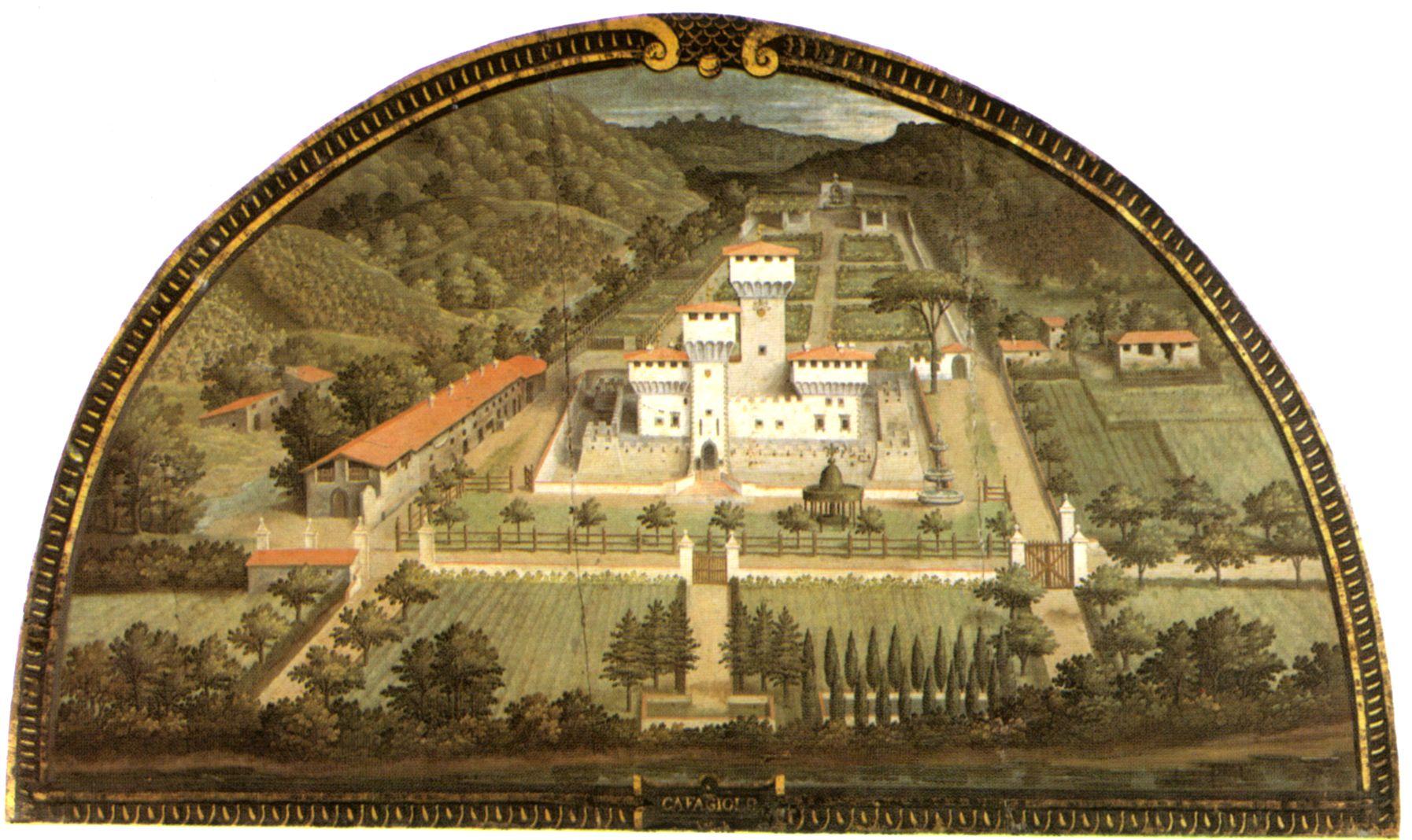 Cafaggiolo utens - Villa Medicea di Cafaggiolo — Wikipédia | ARTS ...
