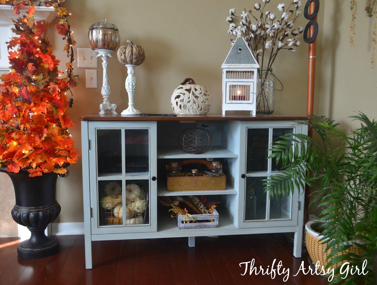 DIY Big Box Store Furniture Makeover: Blue Grey Chalk ...