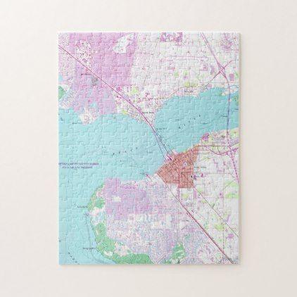 Map Of Port Charlotte Florida.Punta Gorda Port Charlotte Florida Map 1957 Jigsaw Puzzle In