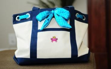 Official Alpha Delta Pi Tote Bag