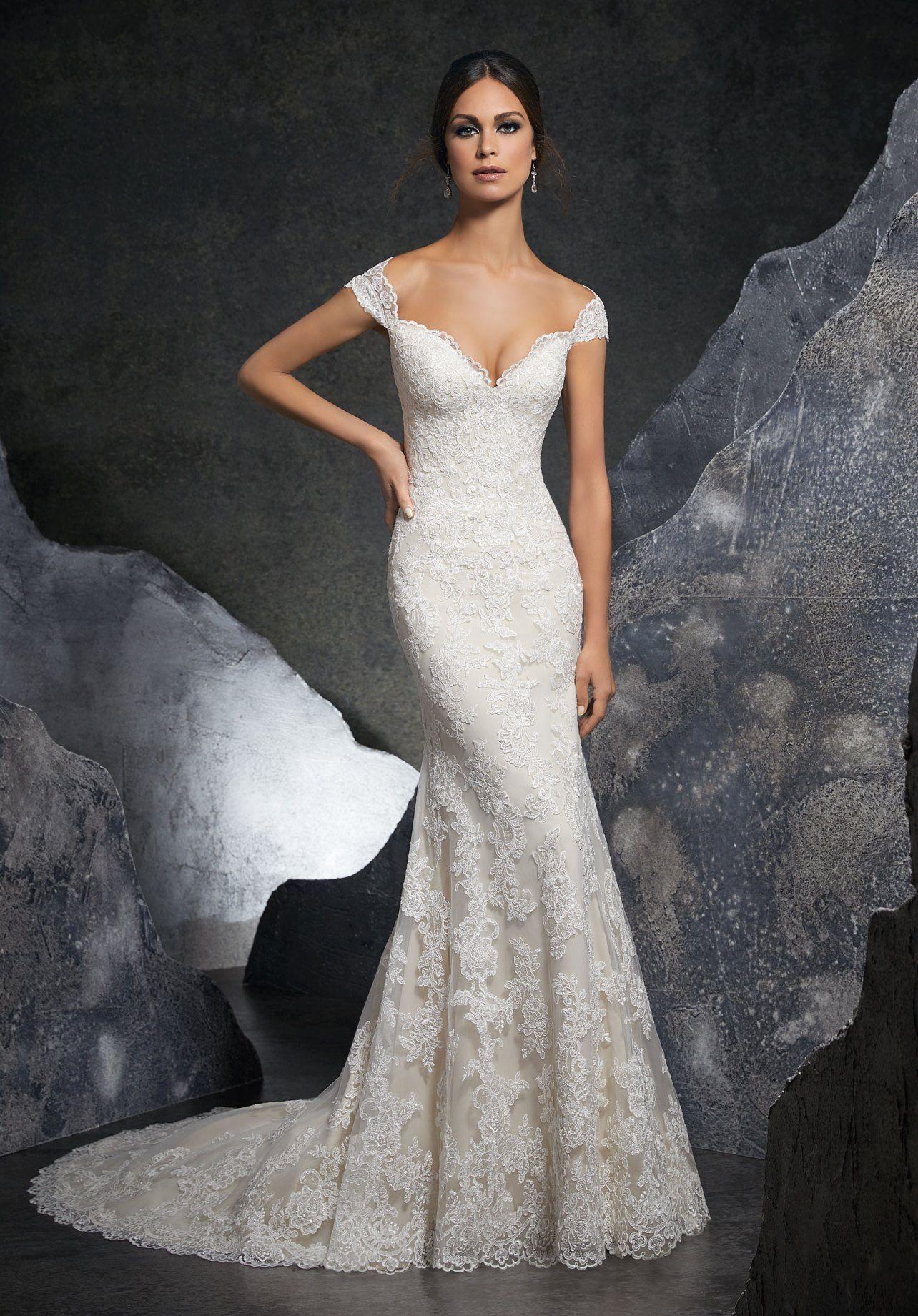 Dress - Mori Lee Blue SPRING 2018 Collection: 5616 - Kinley ...