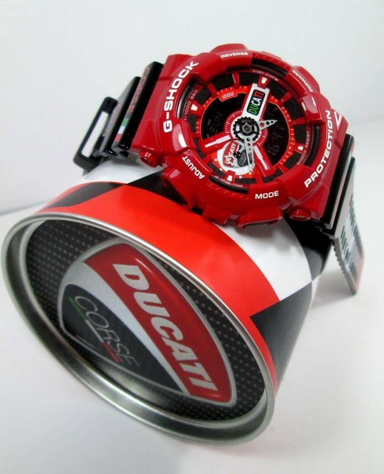 Live Photos  G-SHOCK GA-110 Custom Ducati  994a334d3c4