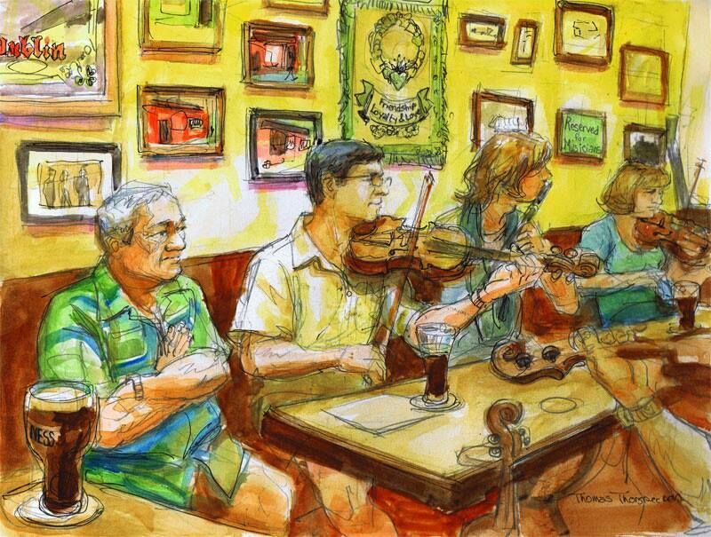 The Irishman Every Saturday from noon til 3 we get together for some 'ceol agus craic!' Singers, musicians and storytellers make for a grand time. Open to all!