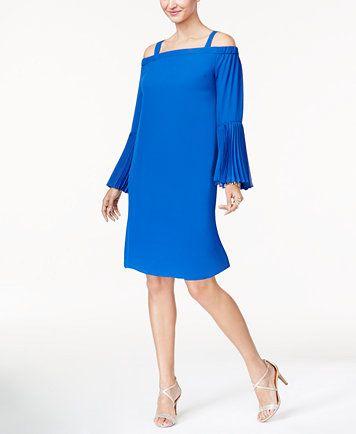 36e33365e7a7 Thalia Sodi Cold-Shoulder Shift Dress