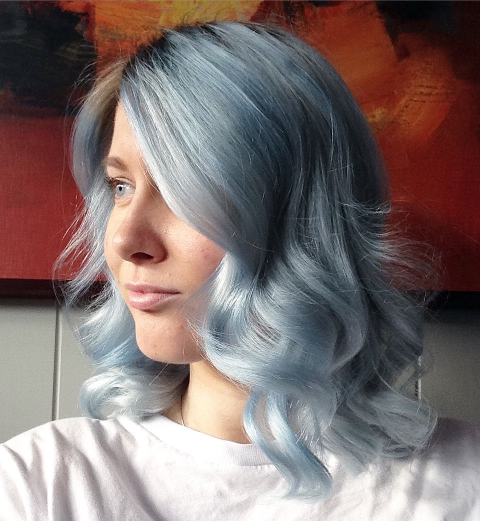 Blue hair. Revlon Nutri Color Creme Fondant | My Photos ...
