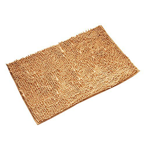 Ealek Super Soft Bath Mat Microfiber Bathroom Rugs Non Slip Absorbent Fast Drying Machine Washable Carpet Mats Shower X 30 Inch Yellow