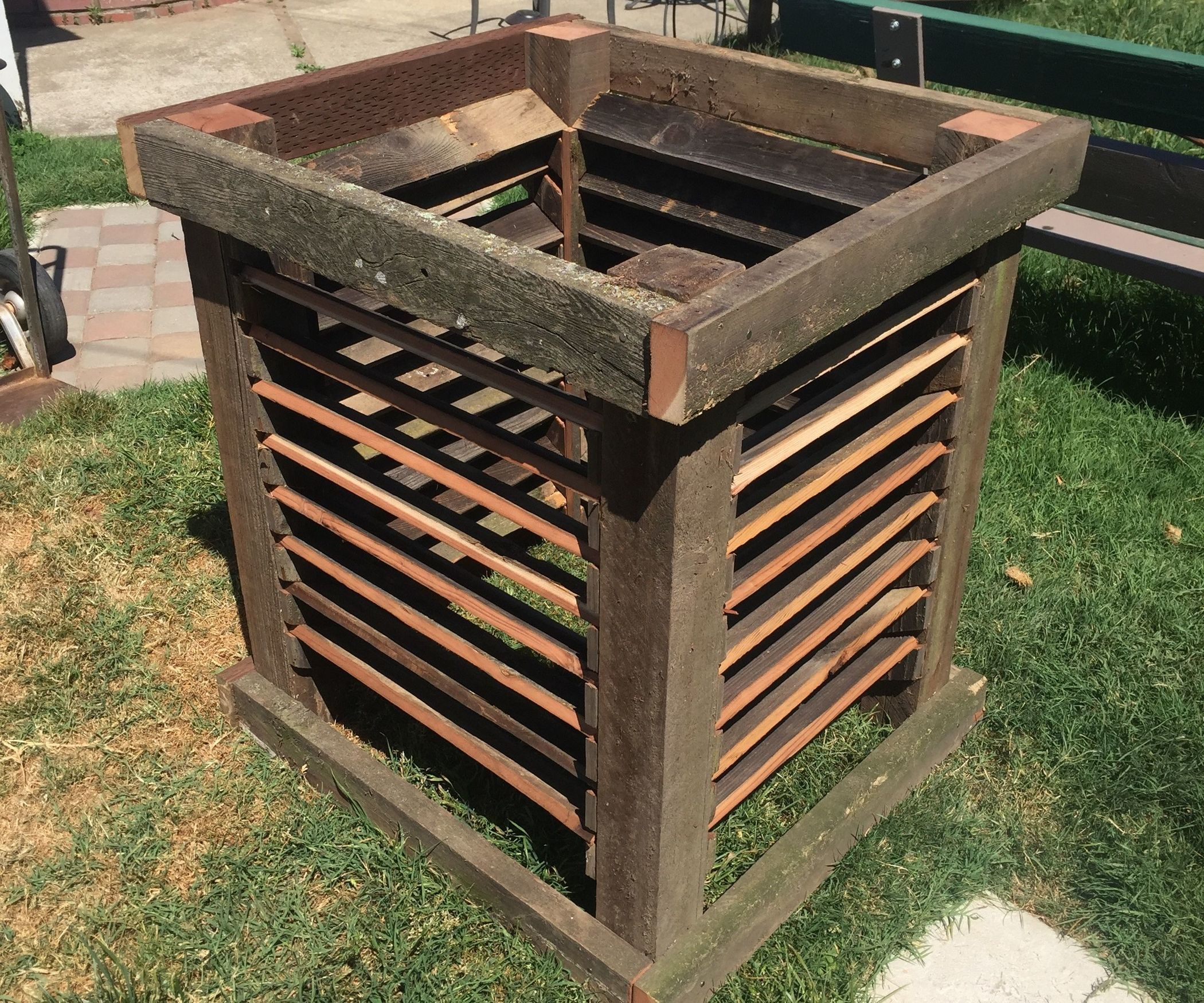 Upcycled Compost Bin | Composting, Fences and Gardens