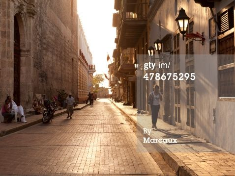 Stock-Foto : Cartagena aunset