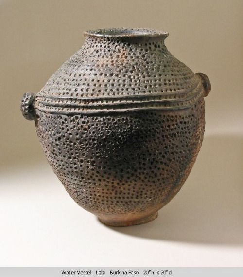 mondaysprojects:  From the William Itter Collection of African Pottery