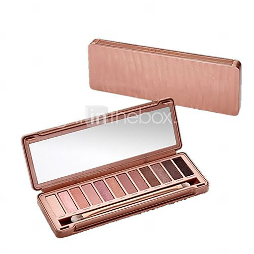 1Pcs Sales Of 12 Colors Earth Nude Make-Up NK3 Generation Silty Eye Shadow Exquisite Natural Nude Make-Up 2016 - £4.15