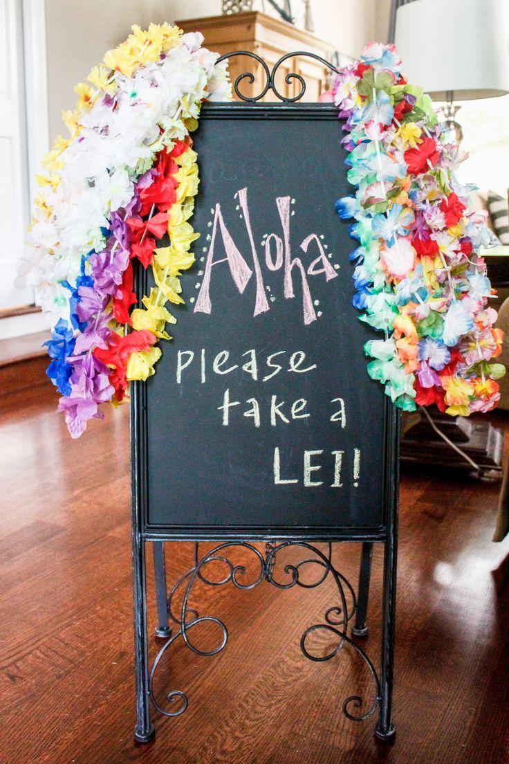 James 'tropische Geburtstagsfeier! - Meg McMillin #tropicalbirthdayparty